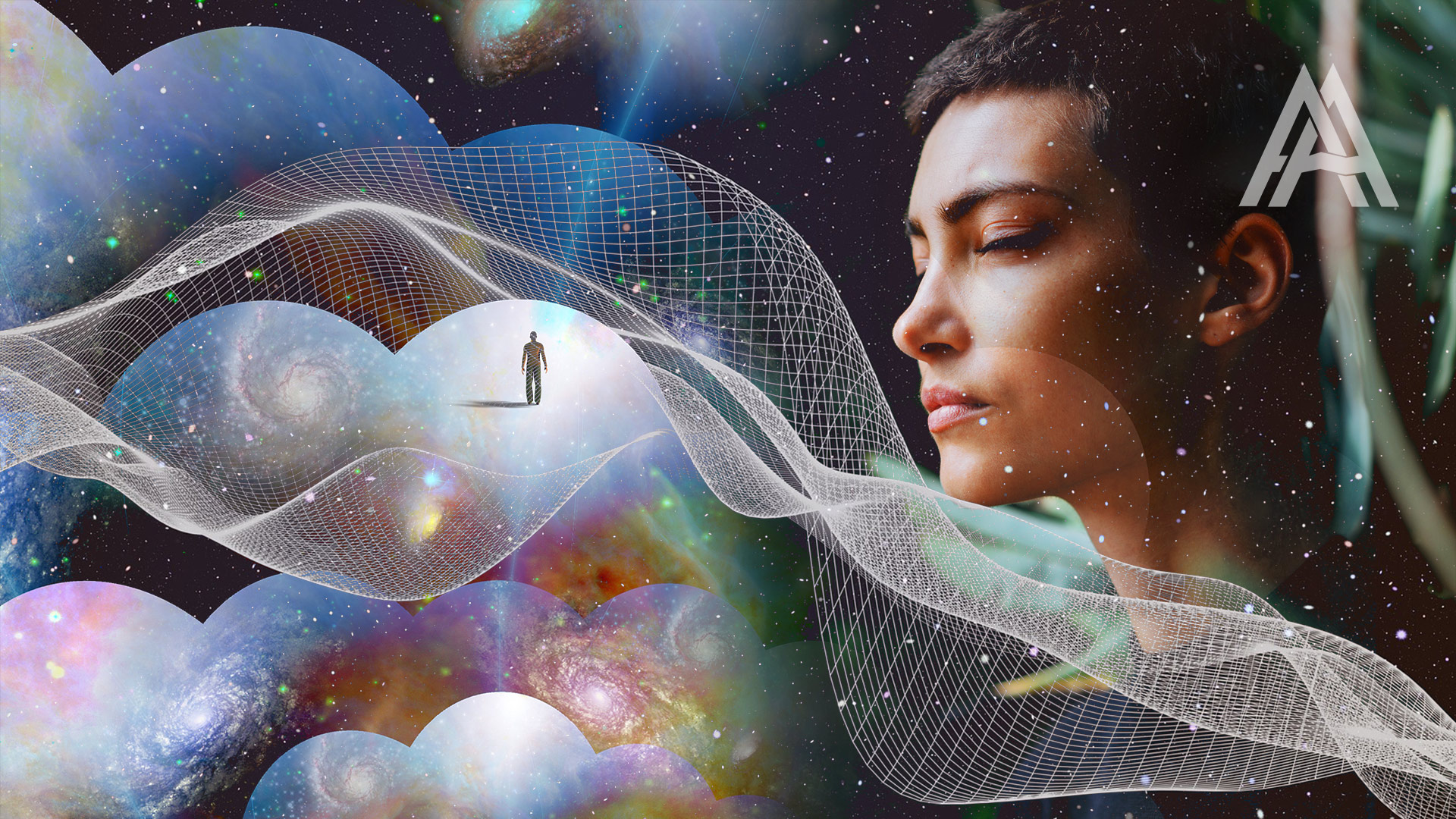 visualize yourself as a universal being