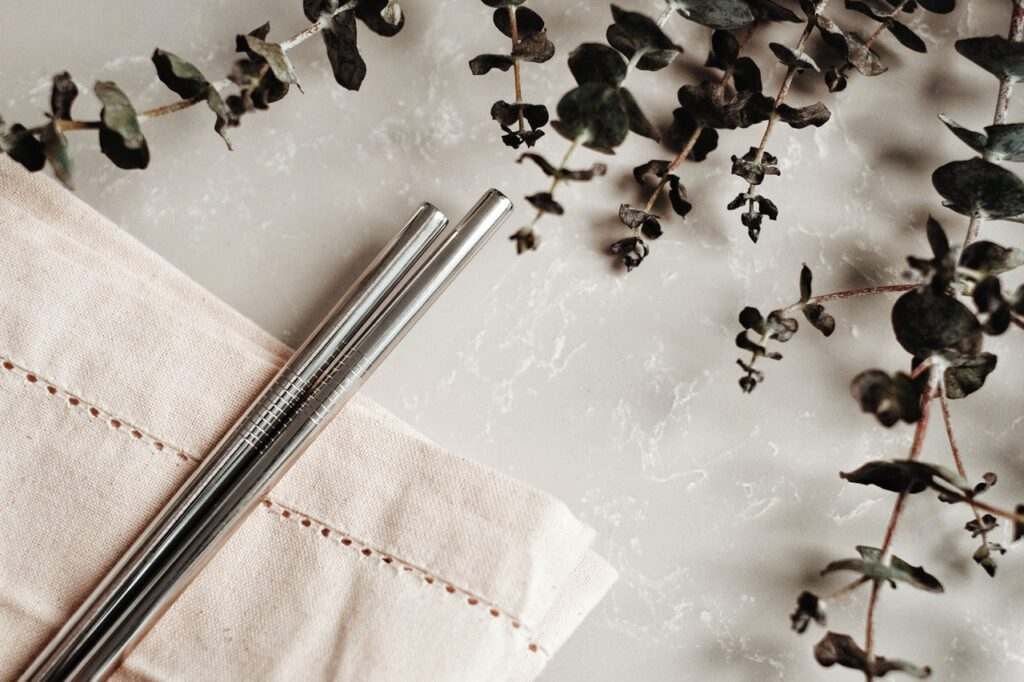 Carry reusable straws - Zero-Waste-Hacks-for-travelers-and-digital-nomads
