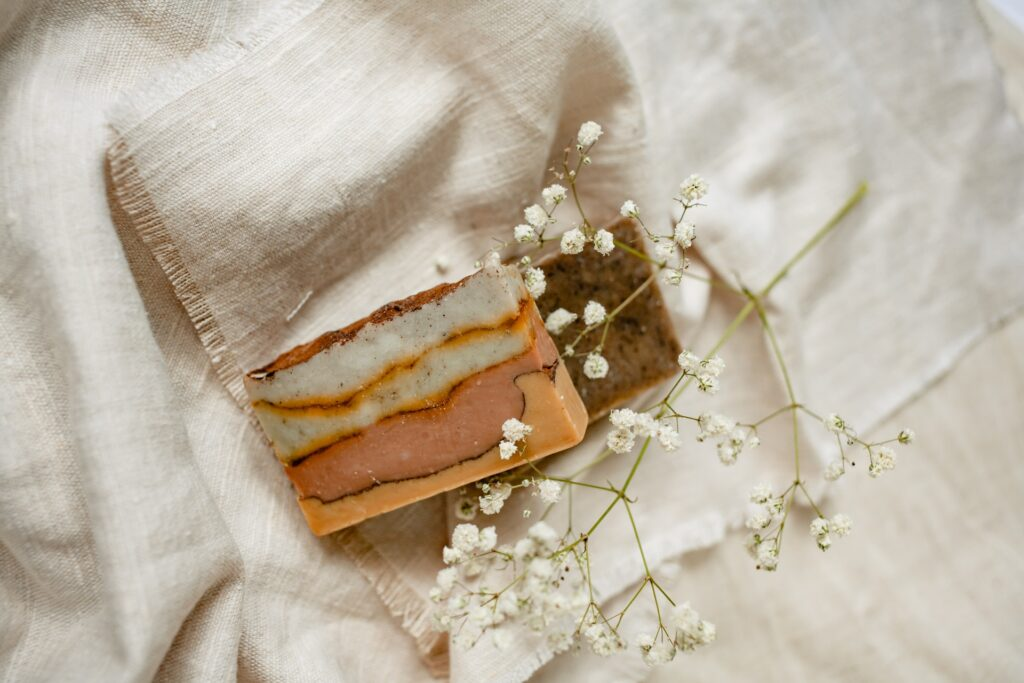 Travel with a natural bar of soap - Zero Waste Hacks for travelers and digital nomads